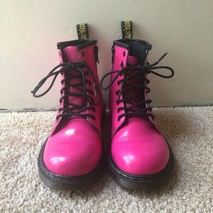 Youth Pink Dr Martens